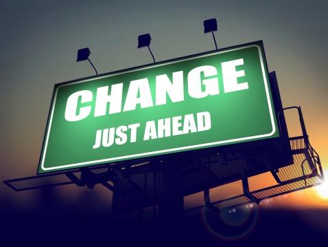 Change Just Ahead