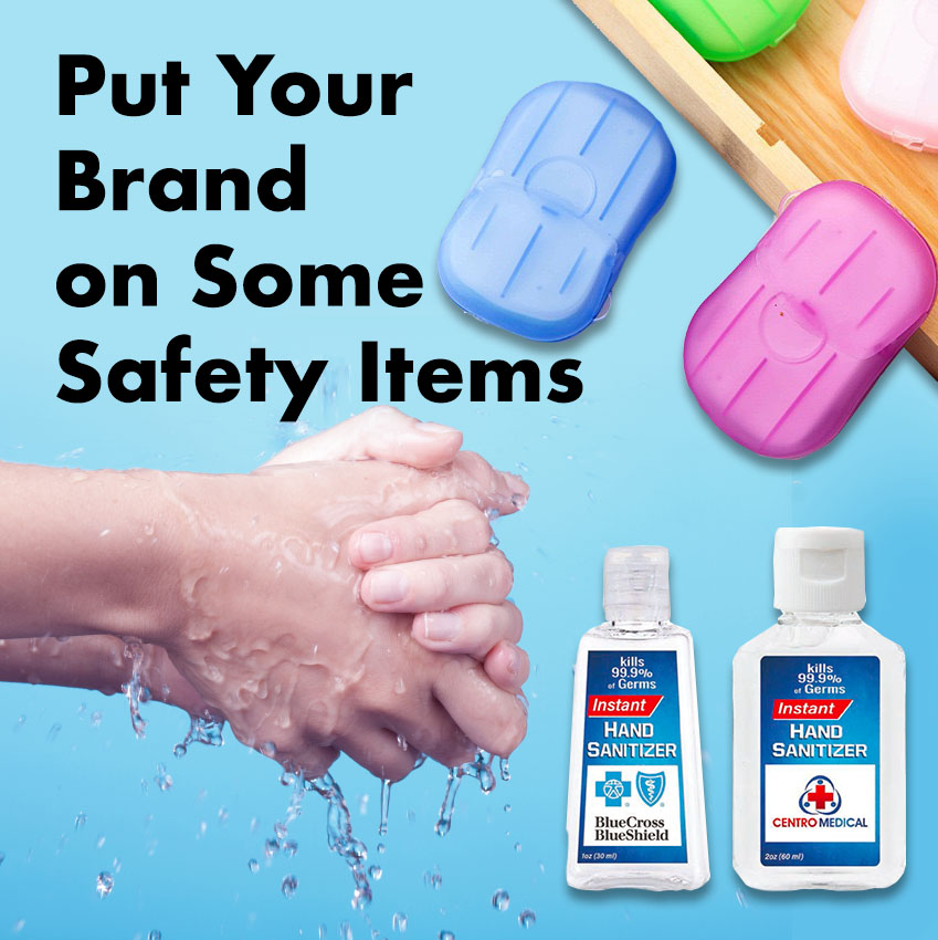 Put Your Brand on Some Safety Items