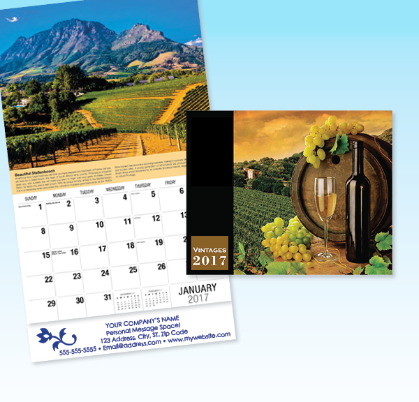 Calendars color printing offset printing west palm beach 2017 wall 1c malvernweather Images