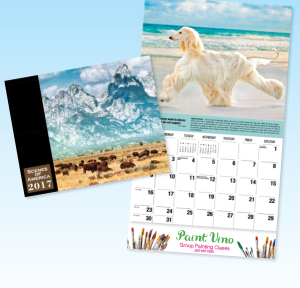 Calendars, Color Printing, Offset Printing West Palm Beach
