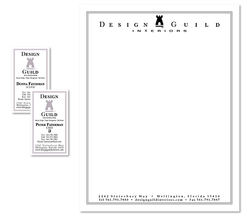 Full Color Stationery Letterhead Envelopes West Palm Beach