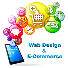 Custom Designed Websites with and without E-Commerce